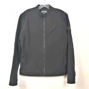 Michael Kors  black full zip lightweight jacket M